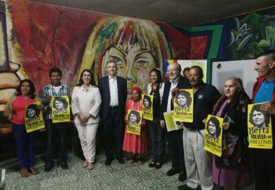 COPINH denuncia impunidad en el caso de Berta Cáceres ante el Secretario de Estado Español y embajador de España en Honduras.