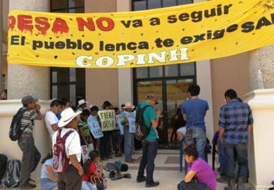 COPINH informa: Ya esta a punto de empezarla audiencia de sentencia contra Martiniano Dominguez, ex alcalde de intibucá