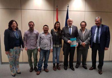 Reunión en Madrid con el Secretario de Estado de Cooperación Internacional para Iberoamérica, Fernando García Casas