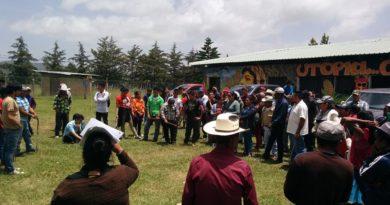 Declaración del Encuentro por la autodeterminación de los pueblos contra saqueo empresarial y del Estado de Honduras.
