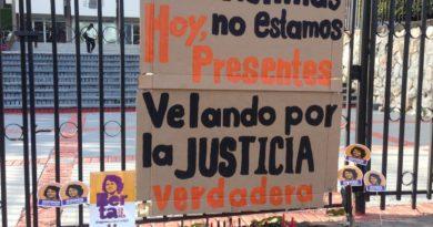 Así amanece la Corte Suprema de Justicia luego de tres días de iniciado el juicio en la causa Berta Cáceres sin presencia de las víctima.