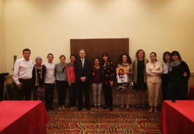 Encuentro con la Comisión de Cooperación del Senado de España