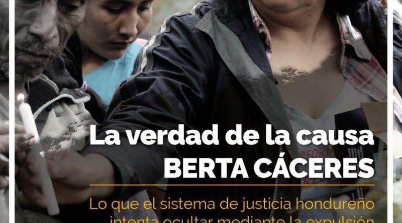 Este martes, 13nov te esperamos! La verdad de la Causa Berta Cáceres.