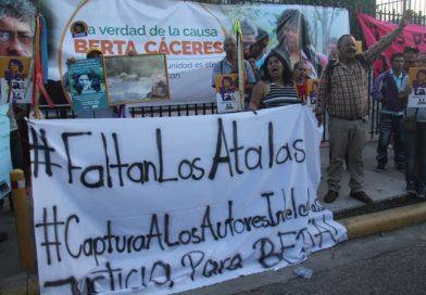 Expertos de la ONU lamentan que los autores intelectuales de la muerte de Berta Cáceres sigan en libertad
