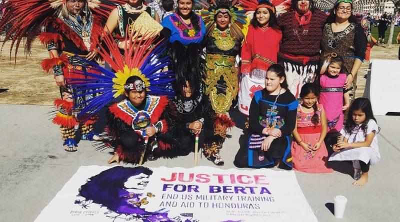 La Marcha de mujeres celebrada en la Nación Kumeyaay