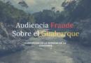 26marzo2019: Fraude en el Gualcarque, antes los hechos ocurridos hoy
