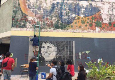 Mural en la UNAH