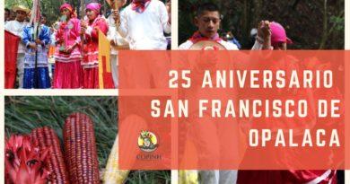 Celebramos 25 años de la fundación del municipio de Opalaca