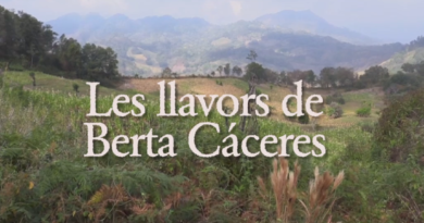 "Documental ""Las Semillas de Berta Cáceres"""