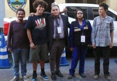 Liberados los jovenes detenidos ayer!