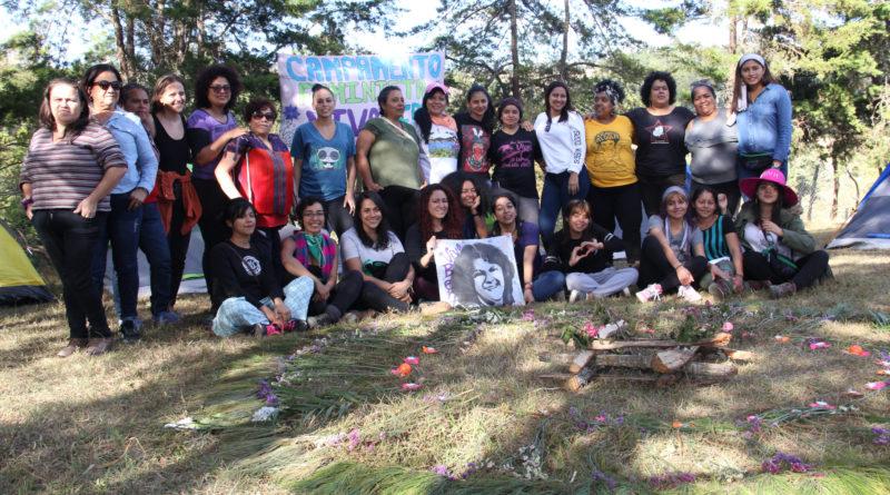 VIDEO: Campamento Feminista ¡viva Berta!