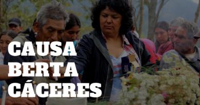 Actualización CAUSA BERTA CÁCERES