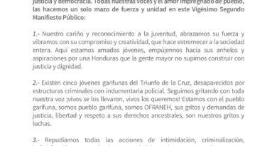 MANIFIESTO PÚBLICO (#22 – Agosto 2020)
