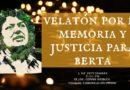 Velatón por la memoria y justicia para Berta