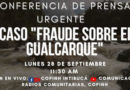 Posicionamiento del COPINH frente a exclusión en Causa Berta Cáceres.