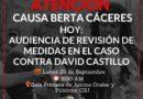 VIDEOS: Audiencia de Revisión de Medidas  Roberto Castillo