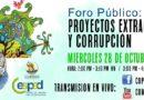 """VIDEO: Foro – """"Proyectos Extractivos y Corrupción"""""""