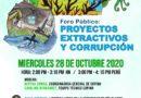 """COPINH Convoca al Foro Público: """"Proyectos extractivos y corrupción"""""""
