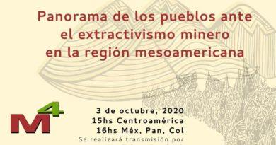 Conversatorio: Panorama de los pueblos ante el extractivismo minero en la región