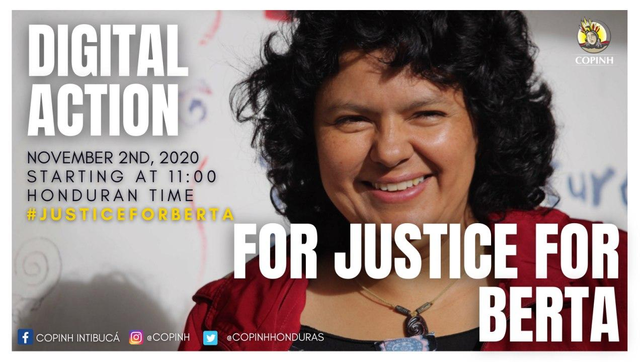DIGITAL ACTION FOR JUSTICE FOR BERTA
