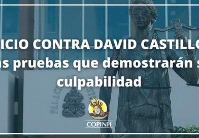 Boletín No. 11: Juicio contra David Castillo, las pruebas que demostrarán su culpabilidad