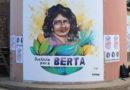 "VIDEO: Mural ""Justicia para Berta"" en La Esperanza"