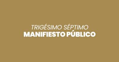 MANIFIESTO PÚBLICO (#37 – Enero 2021)