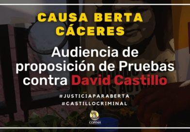 Mañana, 21/01/21 audiencia contra David Castillo