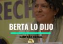 Campaña radial: Berta lo dijo!!