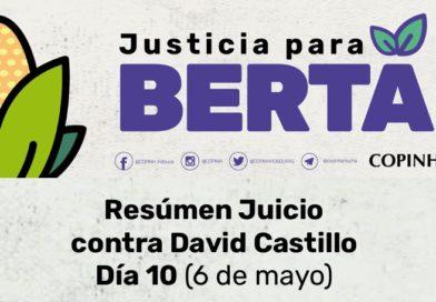 Juicio contra David Castillo: Día 10