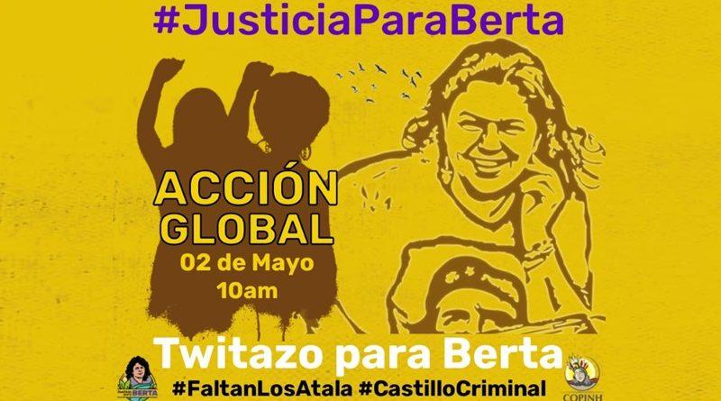 "Acción Global ""Twitazo para Berta"""