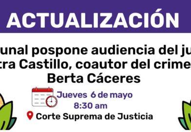 Juicio contra David Castillo: 05 de mayo se suspende la audiencia.