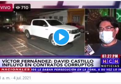 """El abogado Víctor Fernández dice que """"Las pruebas contra David Castillo son abundantes y contundentes"""""""