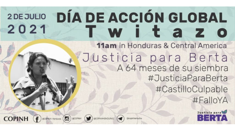 A 64 meses Acción Global #JusticiaParaBerta (ES+EN)