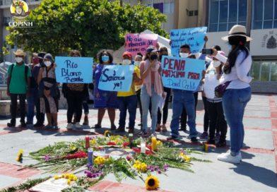 COPINH exige la pronta sentencia contra David Castillo